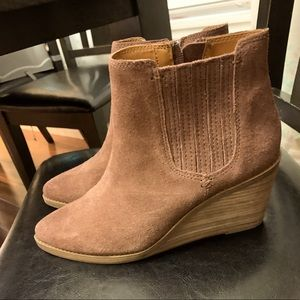 Frye wedge boots BRAND NEW